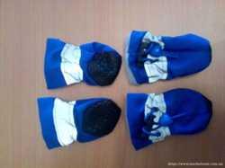 Обувь для собак мелких пород (пинетки, сапожки)