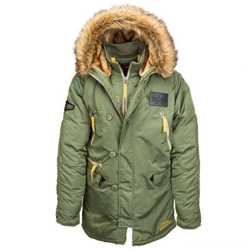"""Новая модель легендарной куртки N-3B """"Аляска"""" - N-3B Inclement Parka от Alpha Industries Inc. USA 3"""