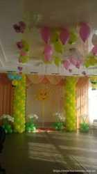 Оформление воздушными шарами!!!  1