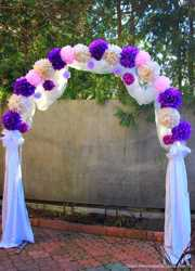 Прокат арки на свадьбу, оформление свадьбы 3