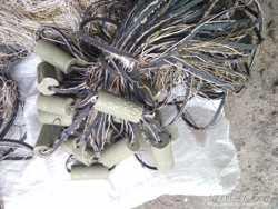 Сеть рыболовная посаженная из нити  25х1,4 м,ячейка 40,новая