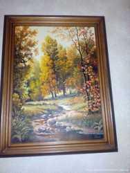 Картина Осень холст масло