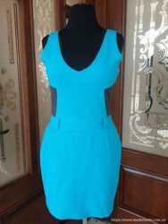Платье Versace бирюза 1