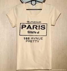 Замечательная футболка с камнями, М/L, р. 48-50, новая! 2