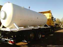 Транспортная цистерна контейнерного типа 20м3 для пропана, азота