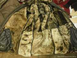 Дубленка мужская с капюшоном, натуральная кожа и мех 3