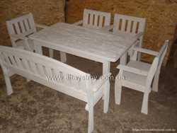 Столы, стулья, скамейки в кафе, бары, сауны 1