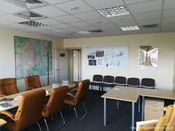 Сдам  офисный блок 350  кв/м., ул. Скляренко Оболонский  р-н. 3 этаж, 7 раздельных  комнат. 3