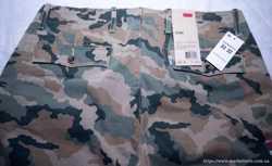 "Джинсы мужские ""Levi's Camo Regular Fit Chino green camouflage"".  3"