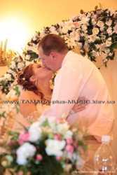 Свадебная арка, украшение банкетного зала, чехлы на стулья... 1