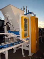 Вибропресс для производства тротуарной плитки, бордюров SUMAB E-300 D 1