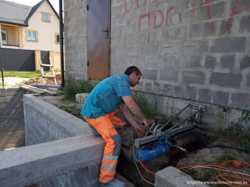 Алмазное сверление отверстий в бетоне буча