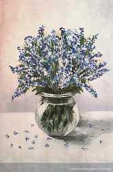 """Картина гуашью """"Полевые цветы"""""""