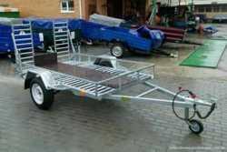 Причеп для перевезення квадроциклів/ Прицеп, лафет, платформа 1