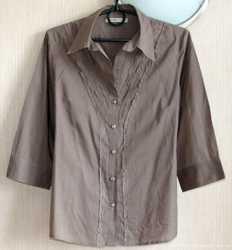 Замечательная блуза из натуральной ткани, М, р.48-50 1