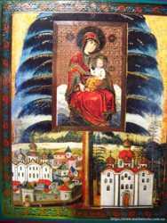 картина икона божья матерь православная, на деревянной основе, торг