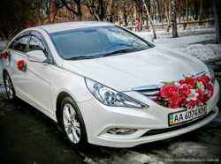 166 Hyundai Sonata белая NEW прокат авто 1