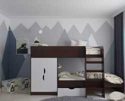 Двоярусне дитяче ліжко Фієста  2