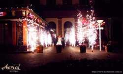 Яркое пиротехническое шоу для свадьбы, выпускного, дня рождения! Арт-студия Aerial