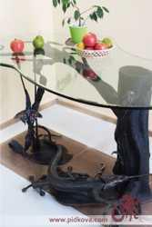 Кованые столы и журнальные столики  3