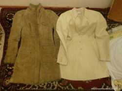 Куртка удлиненная, кожа 3