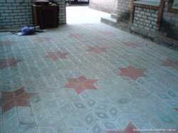 Укладка тротуарной плитки.от-95гр.кв