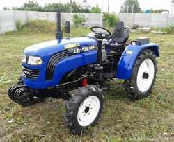 Мини-трактор Foton/Lovol TE-244 с реверсом и широкой резиной