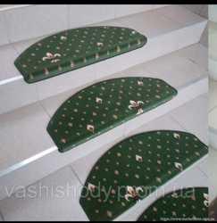 Захисні декоративні накладки на сходи преміум класу