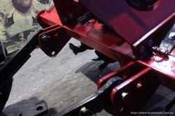 Фреза почвофреза тракторна на Т25 Т40 МТЗ ЮМЗ ДТЗ Сінтай 3