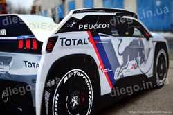 Кровать машина  Dakar 3