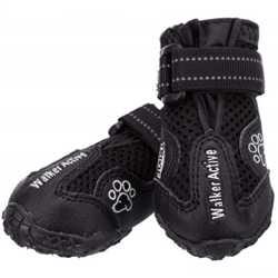 Защитные ботинки Trixie Walker Active для собак, размер XL, черный