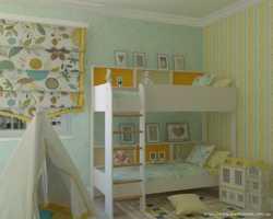 Двоярусне дитяче ліжко Альфа  3