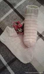 Продаю вязаные носки ручной работы 2