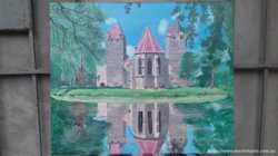 Замок на острові