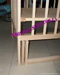 Кроватка-маятник+ортопедический матрас+постельное 8 эл. 3