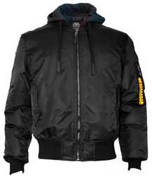 Куртка MA-1 Nylon Bomber Jacket With Hoodie, USA 1