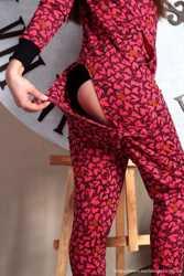 Теплая пижамка с кармашком на попе! Отличный подарок для девушки! 3