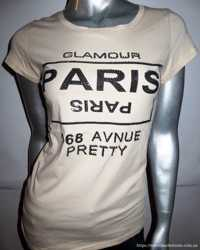 Замечательная футболка с камнями, М/L, р. 48-50, новая! 1
