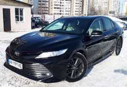 150 Toyota Camry V70 черная 2019 заказать авто на свадьбу 2