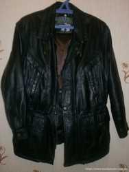 Куртка мужская MORENA Leather Fashion, натур кожа
