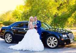 Авто на свадьбу - аренда автомобиля на свадьбу в Киеве 1