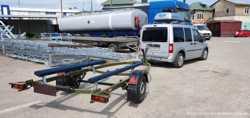 Прицеп для лодки недорого (бюджетный вариант)