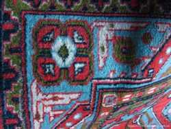 ковёр палас 1.45 на 2.25 советский мягкий тканный, узор голубой, торг