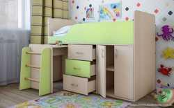 Дитяче ліжко-горище Снупі  2