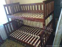Трехспальная кровать Жасмин 2