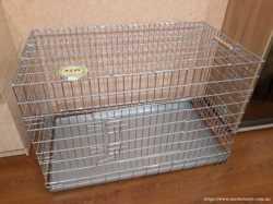 Клетка-вольер для животных Лори Волк 3 оцинкованная