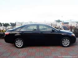 157 Toyota Camry black аренда авто  2