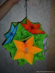 Оригами обучение и оформление фотозон, залов