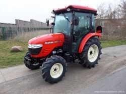 Экспортный б/у трактор 2007 года выпуска Branson 5025 CX 47 л/с + плуг 1