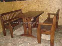 Столы, стулья, скамейки в кафе, бары, сауны 3